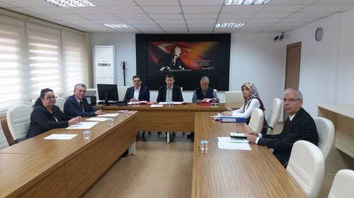 S.D.Ü. Kurum İdari Kurul Toplantısı Yapıldı