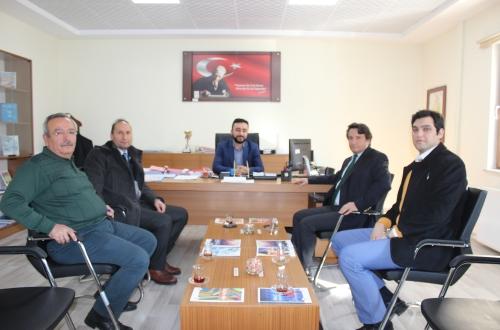 Aile ve Sosyal Politikalar İl Müdürü Hüseyin Şener ve Kurucu Müdür Fatih Özel'i ziyaret ettik.