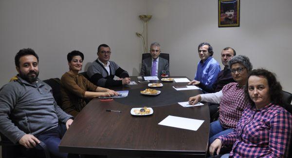 Kocaeli Tabip Odası Aile Hekimliği Komisyonu, Türk Sağlık Sen Aile Hekimliği Komisyonunu sendika binasında Ziyaret etti.
