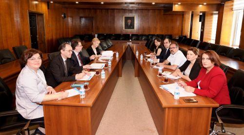 Dokuz Eylül Üniversitesi Yönetimi ile Kurum İdari Kurul Toplantımız