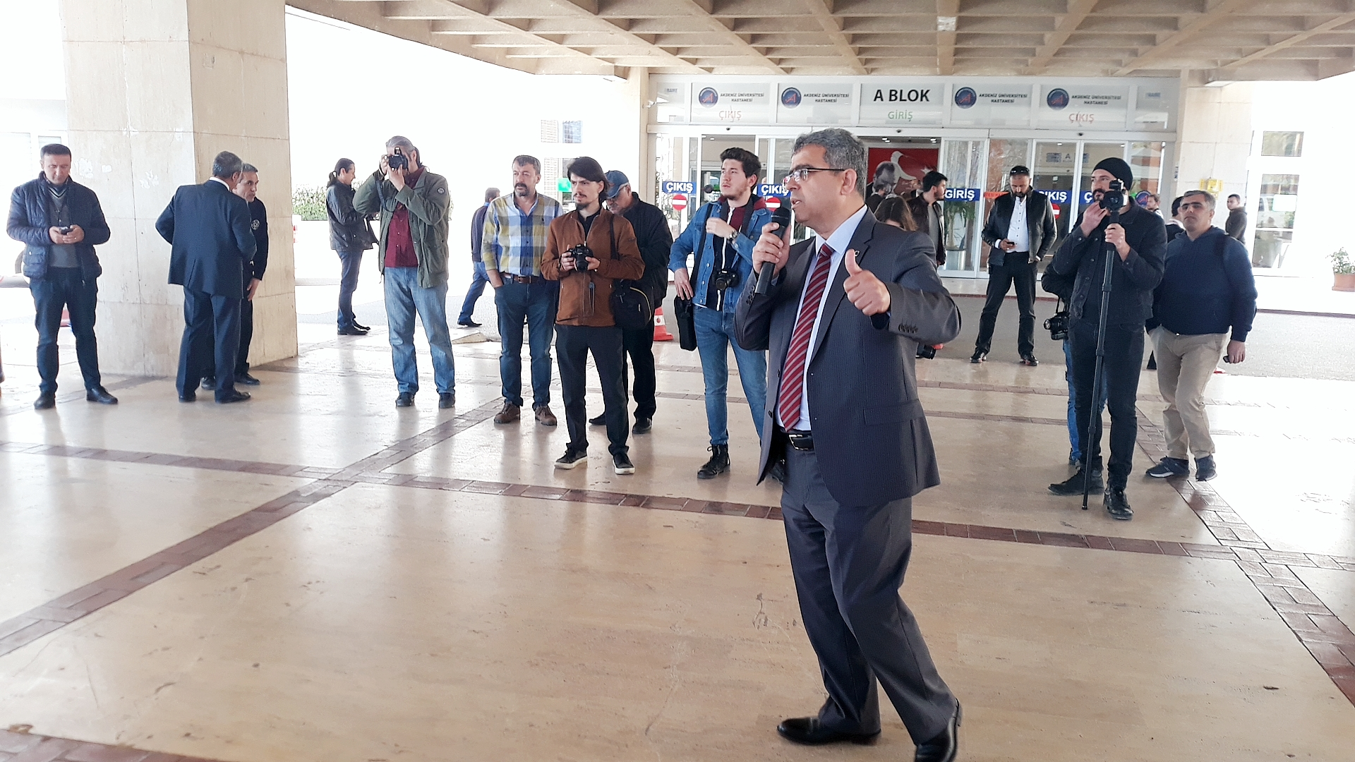 Akdeniz Üniversitesi Hastanesi Döner Sermaye Basın Açıklamamız