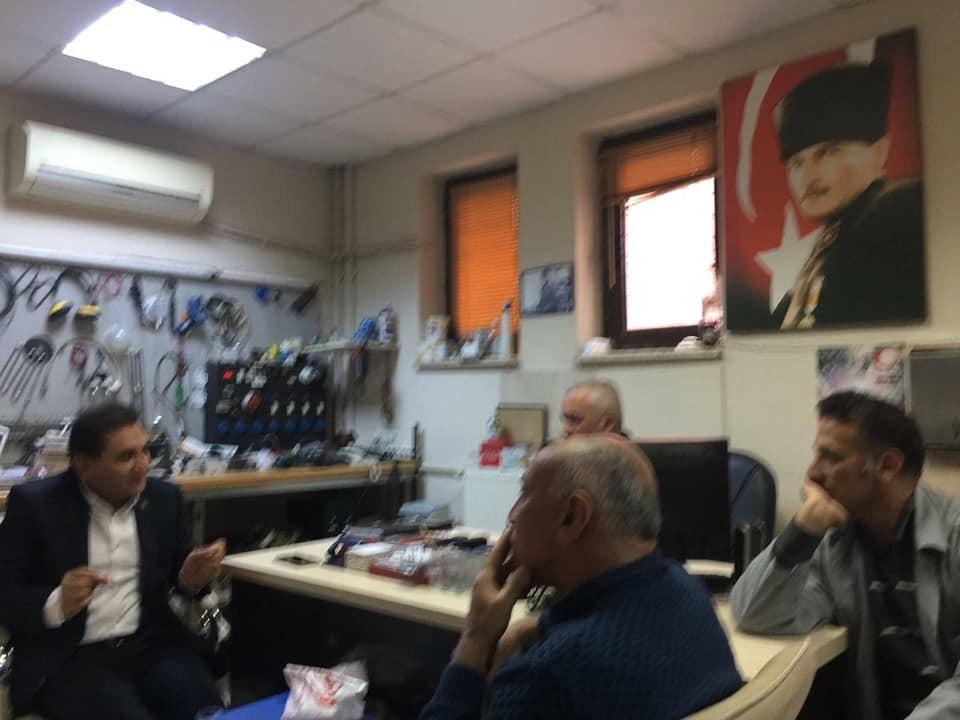 Adana Doğumevi Hastanesi temsilcilerimiz Ergün Türkmen,Şaban Anıt ve üyelerımizı ziyaret ettik.