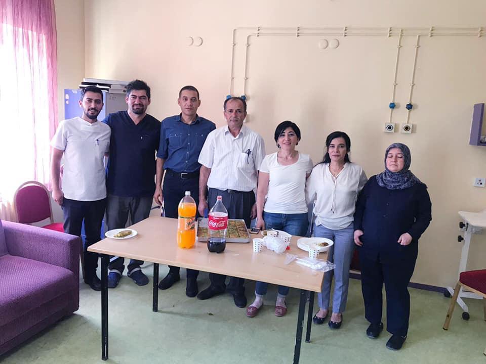 Pozantı İlçe Devlet Hastanesi, Pozantı TSM ve ASM de çalışan üyelerimizi ziyaret ettik.