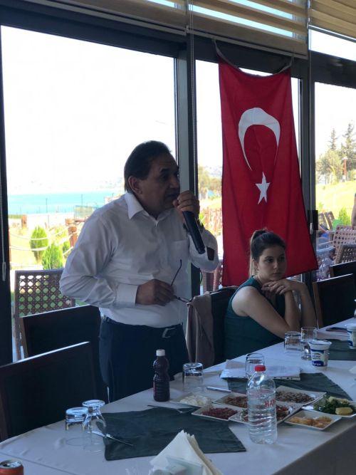 Türk Sağlık-Sen Adana Şubesi olarak işyeri temsilcilerimizle yemekli, istişare toplantı yaptık.