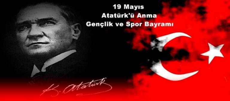 """Türkiye Kamu-Sen Gaziantep İl Temsilcisi Kemal KAZAK; """"19 Mayıs Atatürk'ü Anma, Gençlik ve Spor Bayramı"""" münasebetiyle bir kutlama mesajı yayımladı."""