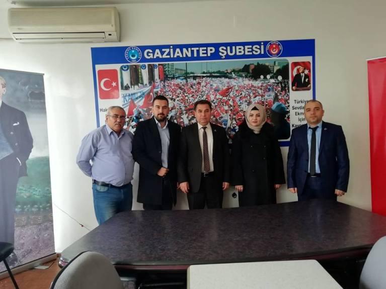 Türkiye Ameliyathane Teknikerleri Derneğinden sendikamıza ziyaret