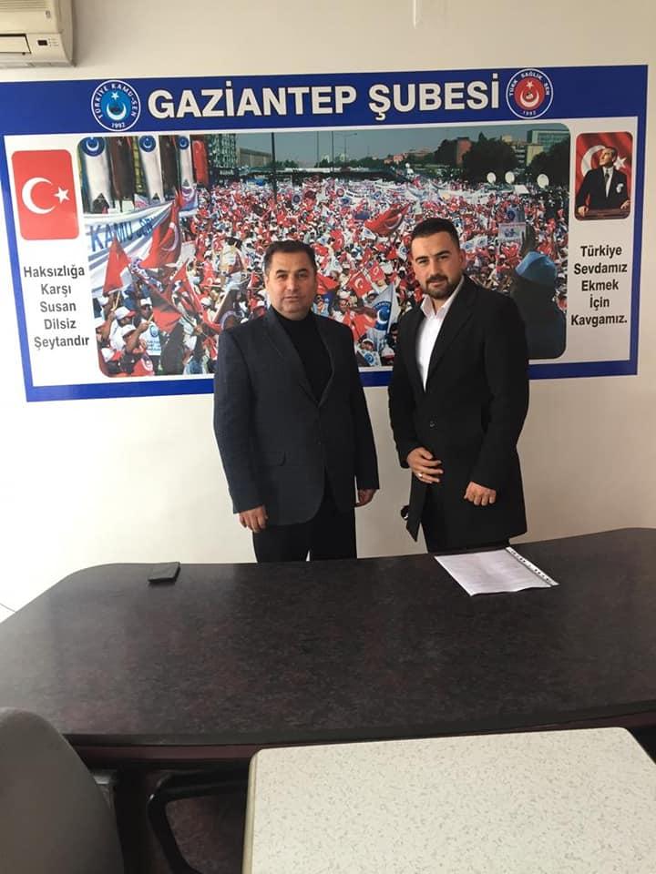 Ameliyathane Teknikerleri Derneği Gaziantep İl Temsilcisi Murat SAYAR sendikamizi ziyaret etti.