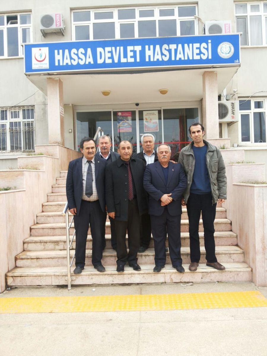 Hassa Devlet Hastanesi Ziyaretimiz