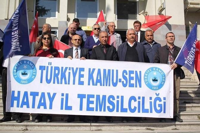 Türkiye Kamu-Sen 15 Ocak'ta Türkiye Genelinde Alanlarda olacak !