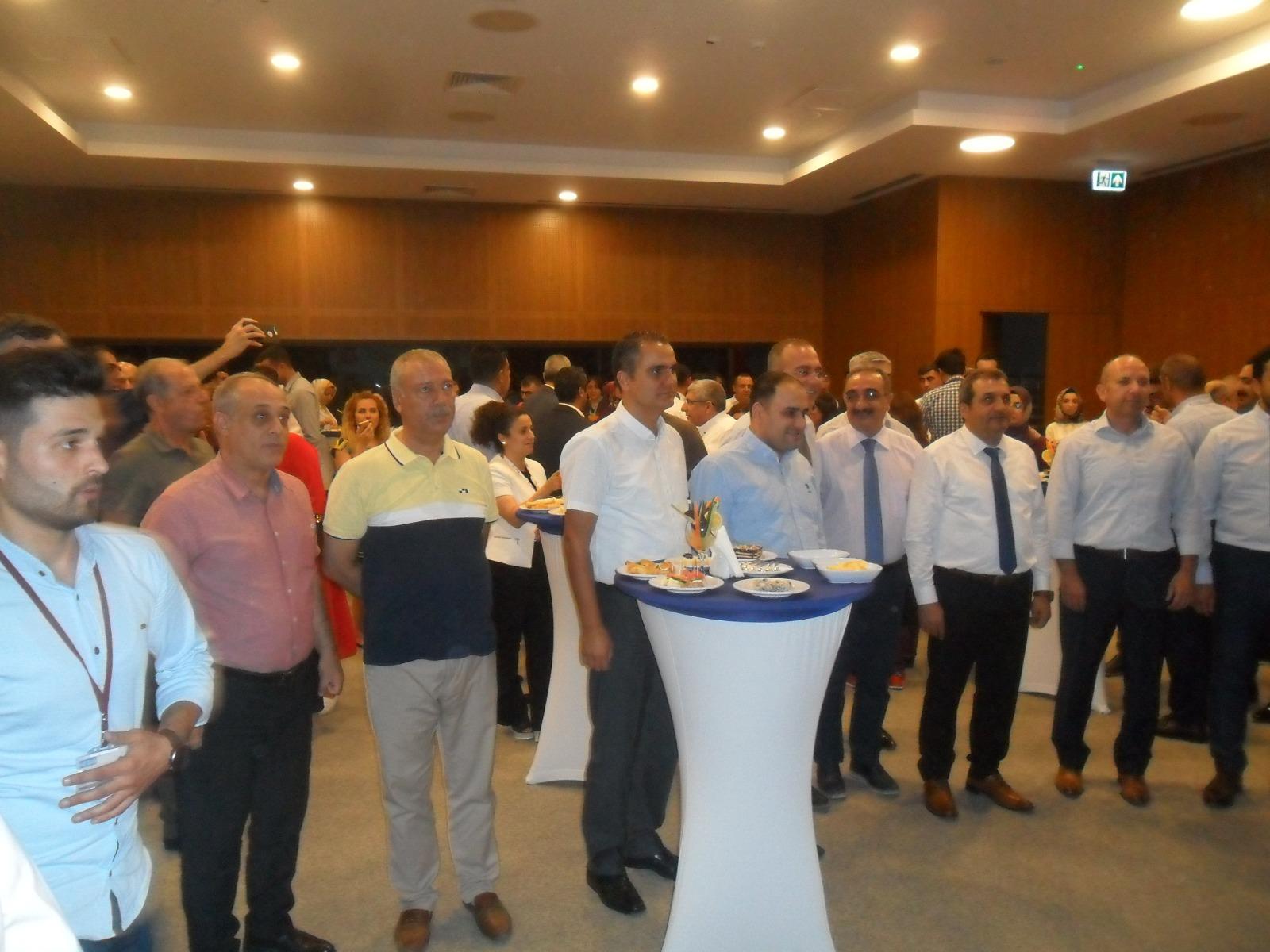 Türk Sağlık Sen Elazığ Şubesi olarak Elazığ Fethi Sekin Şehir Hastanesinin açılışının 1. yıldönümü etkinlikleri kapsamında düzenlenen organizasyona Şube Başkanımız Reşit KILIÇ, Şube Başkan Yardımcılarımız Adem POLAT ve Uğur DABAK ile birlikte katıldık.