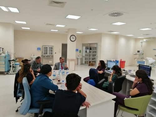 Numune Hastanesi İdari ve Mali İşler Müdür Yardımcısı Yavuz Kaya'yı ve personelimizi ziyaret ettik.