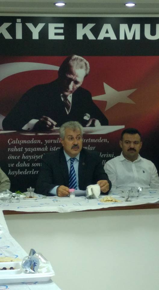İŞYERİ TEMSİLCİLERİMİZLE İSTİŞARE TOPLANTISI YAPTIK