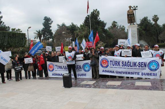 Nöbetleri Protesto Ettik