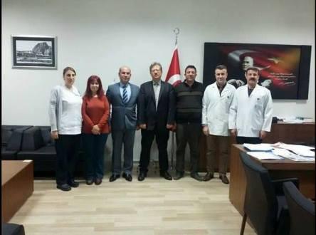 Kamu Hastaneler Birliği Genel Sekreteri Sayın Murat ÇAĞLAYAN ı Ziyaret Ettik