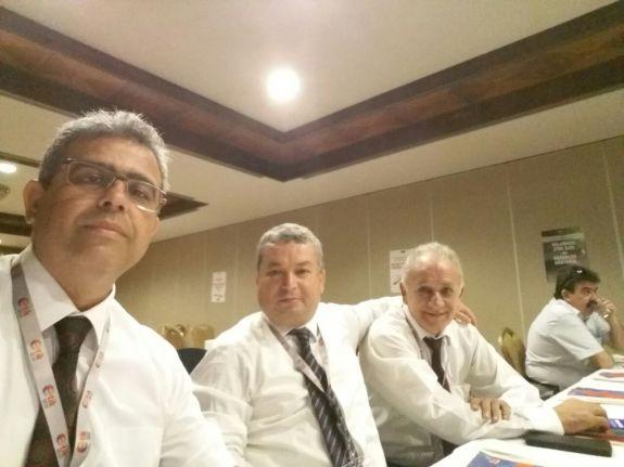 """İlimizde gerçekleştirilen """" Yolsuzluğun Önlenmesi ve Etik Kültürün Pekiştirilmesi için Teknik Destek Projesi"""" konulu Çalıştaya Konfederasyonumuzu temsilen katılan Türk Enerji Sen Genel Başkanı Mehmet ÖZER başkanlığında bir heyet ile katılım sağladık."""