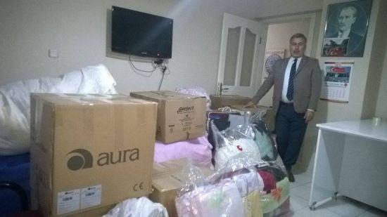 Türkmen Kardeşlerimize Yardım Ettik