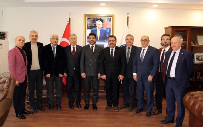 Aydın Adnan Menderes üniversitesi Rektörünü Ziyaret Ettik