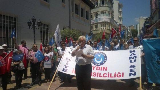 Türkiye Kamu Sen'in Sevgi Yolunda Yaptığı Miting