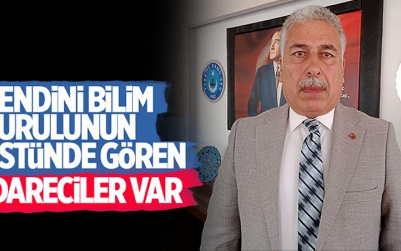 Türk Sağlık-Sen Aydın Şube Başkanı Ahmet Bozkurt: Kendini Bilim Kurulu'nun üstünde gören idareciler var