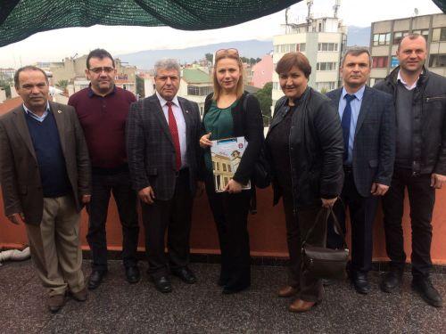 Türk Sağlık Sen Balıkesir Şubesi Olarak Edremit TSM 'deki Üyelerimizi Ziyaret Ettik.