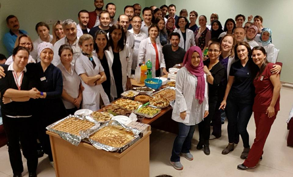 Şube Başkanımız Musa Bilal 8 Kasım Dünya Radyoloji Gününü Kutladı