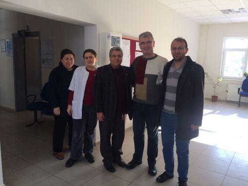 Balıkesir Türk Sağlık Şubesi Olarak İvrindi TSM'yi Ziyaret Ettik.