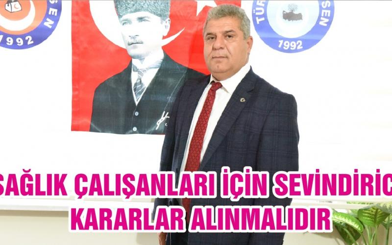 Balıkesir Türk Sağlık Sen Şube Başkanı Musa Bilal yazılı bir açıklamada bulundu.