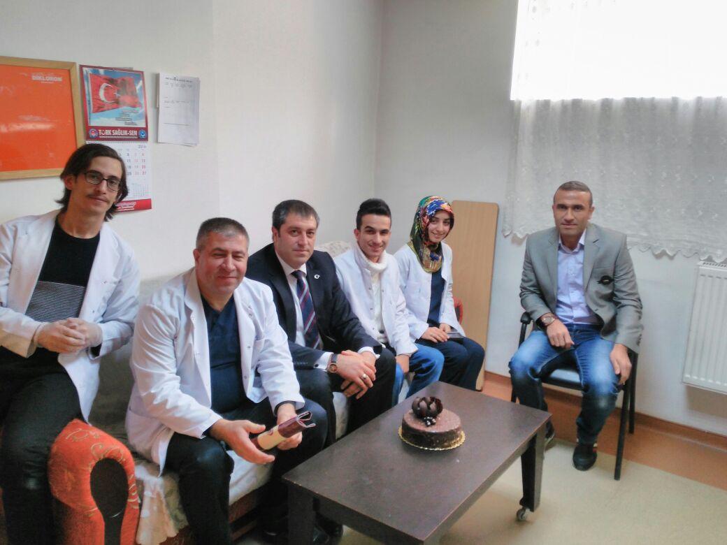 Acil Tıp Teknisyenleri ve Teknikerleri Haftasını Kutladık