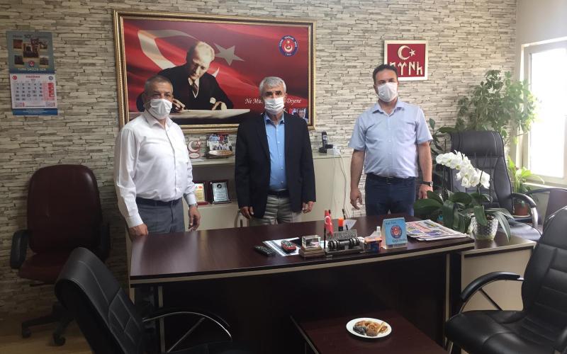 Mhp Eskişehir Milletvekili Metin Nurullah SAZAK sendikamızı ziyaret etti.