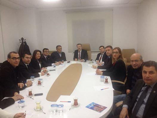Türkiye Halk Sağlığı Kurumu Başkanı Prof Dr.İrfan ŞENCAN ile toplantı yaptık.