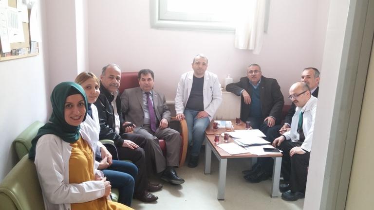 Şehit Kamil Devlet Hastanesini Ziyaret Ettik