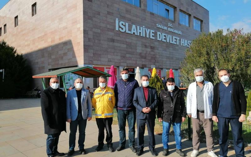 Türk Sağlık-Sen Gaziantep Şubesi olarak; Nurdağı ve İslahiye İlçelerini ziyaret ettik.