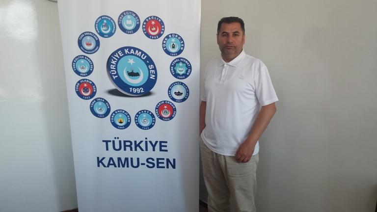 Her Mazlumun Çaldığı Her Hapı Türkiye Kamu-Sen'dir