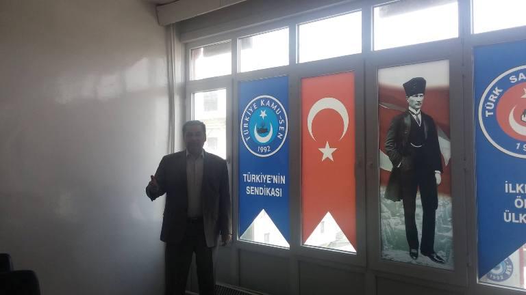 Türk Sağlık-Sen Gaziantep Şubesi olarak; Yerel Sabah Gazetesine değerlendirmelerde bulunduk.
