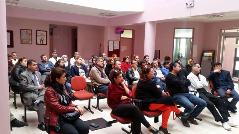 """Gaziantep - Kilis Tabipler Odası, Türk Sağlık-Sen Gaziantep Şubesi, Ses Gaziantep Şubesi, Genel Sağlık İş sendikası Gaziantep İl Temsilciliği, Gaziantep Aile Hekimleri Derneği, Gaziantep Aile Hekimliği Derneği ve Gaziantep Aile Sağlığı Elemanları Derneğinden oluşan """"Gaziantep Sağlıkçılar Meclisi"""" olarak;"""