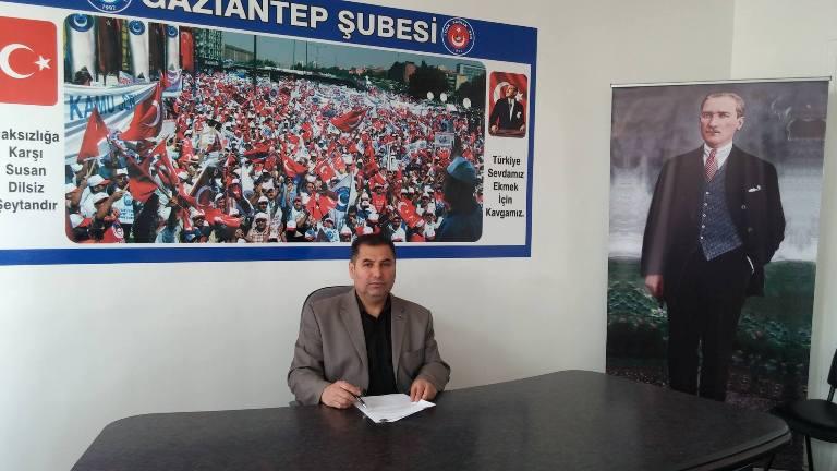 """Gaziantep Şube Başkanı Kemal KAZAK, """"Ebeler Haftası"""" nedeniyle, bir basın açıklaması düzenledi. KAZAK şu ifadelere yer verdi:"""