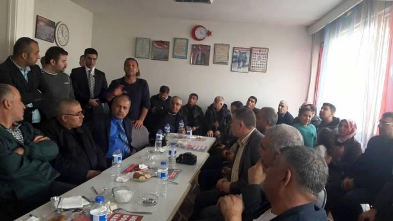 Milliyetçi Hareket Partisi Genel Başkan Yardımcısı ve Gaziantep Milletvekili Prof. Dr. Ümit ÖZDAĞ Türkiye Kamu-Sen'i ziyaret etti.