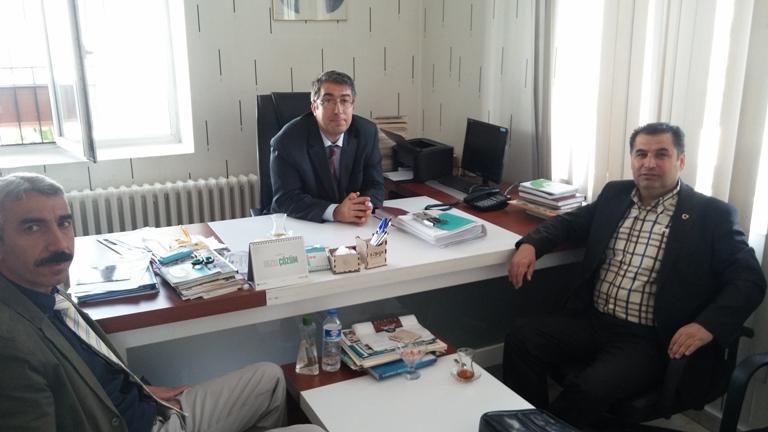 Şahinbey İlçe Sağlık Müdürü Uman Dr. Serhat SARSU ve sağlık çalışanı arkadaşlar ziyaret edildi.