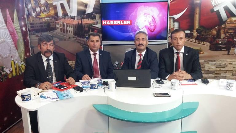 """Türkiye Kamu-Sen Gaziantep İl Temsilciliği olarak; 79 TV'de Mehmet ALICI'nın hazırlayıp sunduğu """"Söz Halkın"""" programının canlı yayın konuğu olduk."""