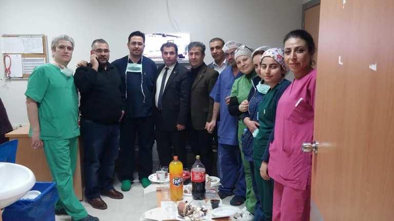Faaliyet alanımızda bulunan hastanelerde Anastezi Teknisyen ve Teknikerlerini ziyaret ettik.