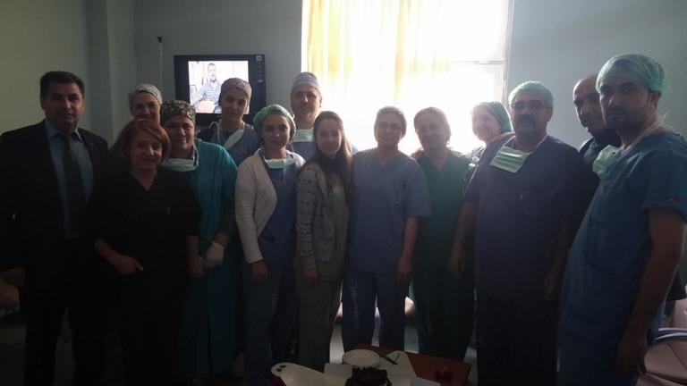 Dr. Ersin Arslan Devlet Hastanesi Ziyareti