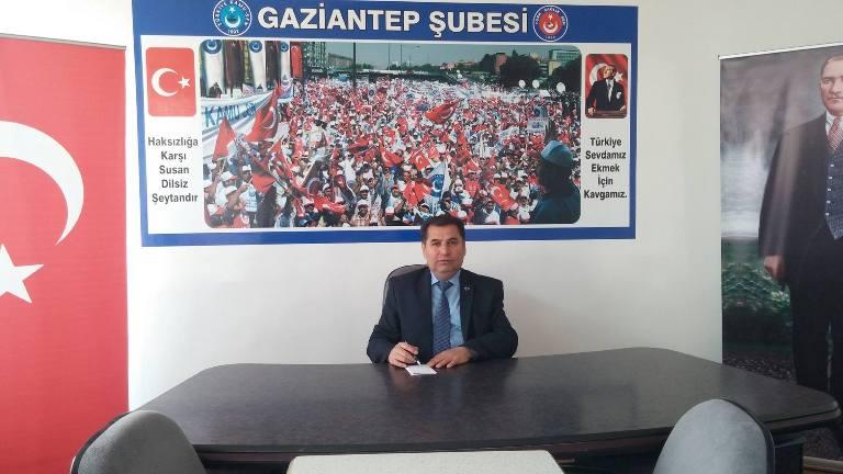Türkiye Kamu-Sen Gaziantep İl Temsilcisi Kemal KAZAK; 2017 Mart ayı enflasyon verileri hakkında bir basın açıklaması düzenledi. KAZAK, şu ifadelere yer verdi: