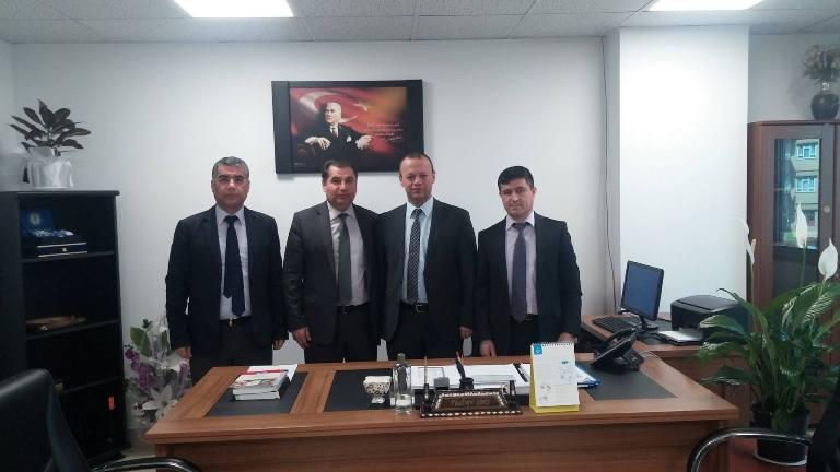 Gaziantep Şubesi olarak; ikinci ziyaretimizi il Sağlık Müdürlüğüne gerçekleştirdik.