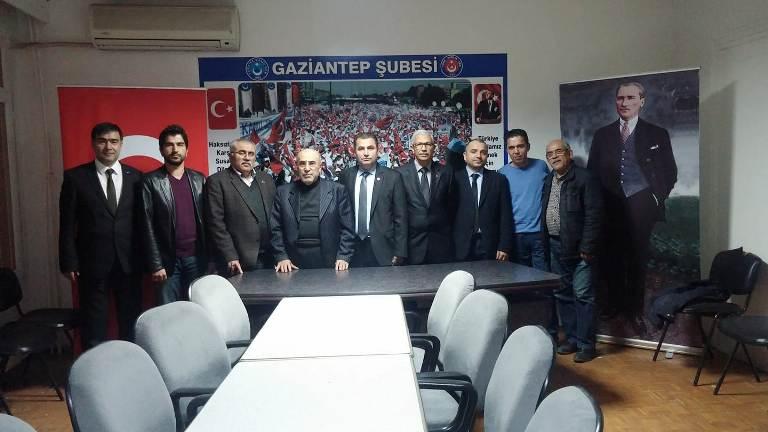 Dr. Mehmet BERK Sendikamızı Ziyaret Etti