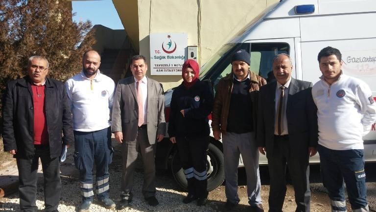 <p>Gaziantep Şubesi olarak; Şube Başkanı Kemal KAZAK, Başkan Yardımcıları Gazi SÖKMEN ve Mehmet Zabit YILDIRIM'dan oluşan heyetle Araban ve Yavuzeli İlçelerini ziyaret ettik.</p>