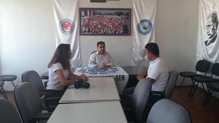 Türk Sağlık-Sen Gaziantep Şube Başkanı ve Türkiye Kamu-Sen Gaziantep İl Temsilcisi Kemal KAZAK; Telgraf gazetesinden Okan ÇELİK'e açıklamalarda bulundu.