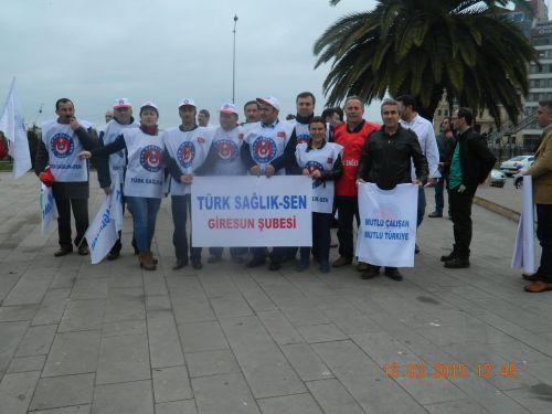 Giresun'da 13 Mart'ta İş Bıraktık
