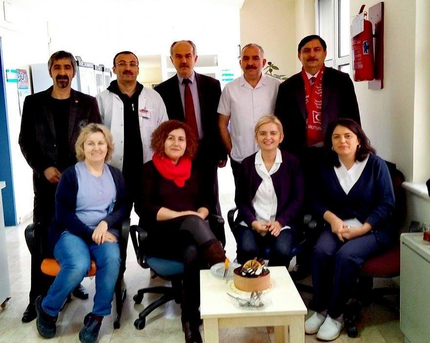 Türk Sağlık Sen'in Olduğu Yerde Başarı Vardır