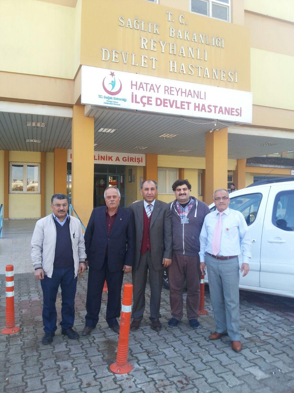 Türk Sağlık-Sen Hatay Şubesi, ilçe ziyaretlerine hız kesmeden devam ediyor