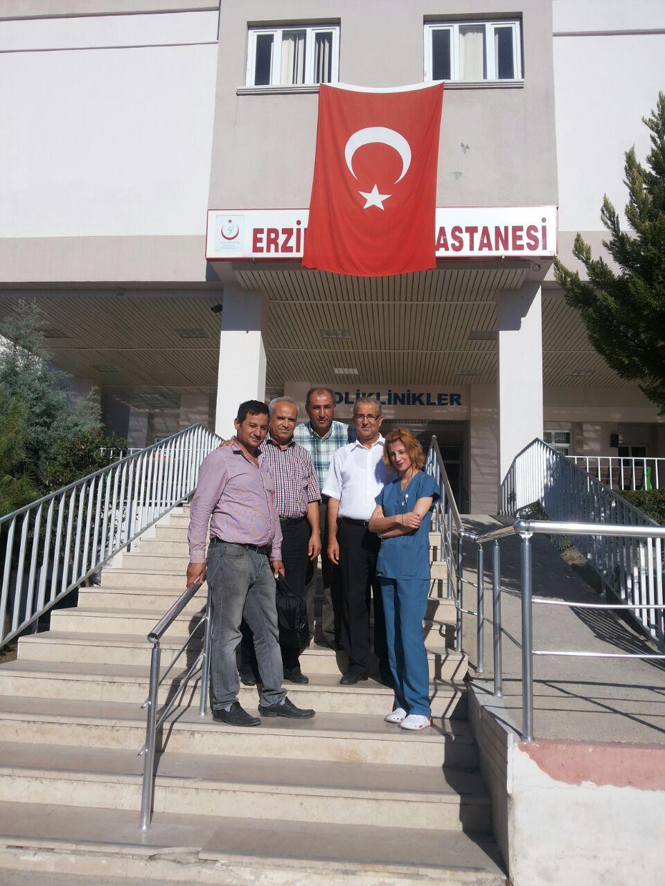 Erzin Devlet Hastanesi Ziyaretimiz